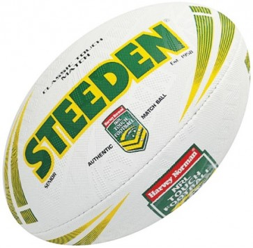 Rugby League Ball Steeden Classic Touch Match