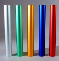 Relay Batons Aluminium
