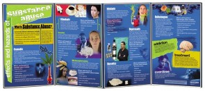 Effects And Hazards Of Substance Abuse Folding Display