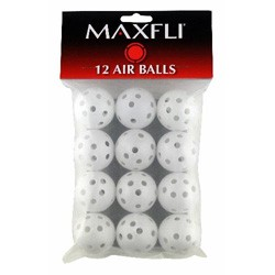 Golf Ball Plastic With Holes - 12