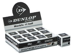 Squash Ball Dunlop Competition Yellow