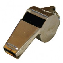 Whistle Metal Large With Ring