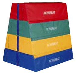 Vaulting Box Pyramid Foam 4 section (1 piece top)