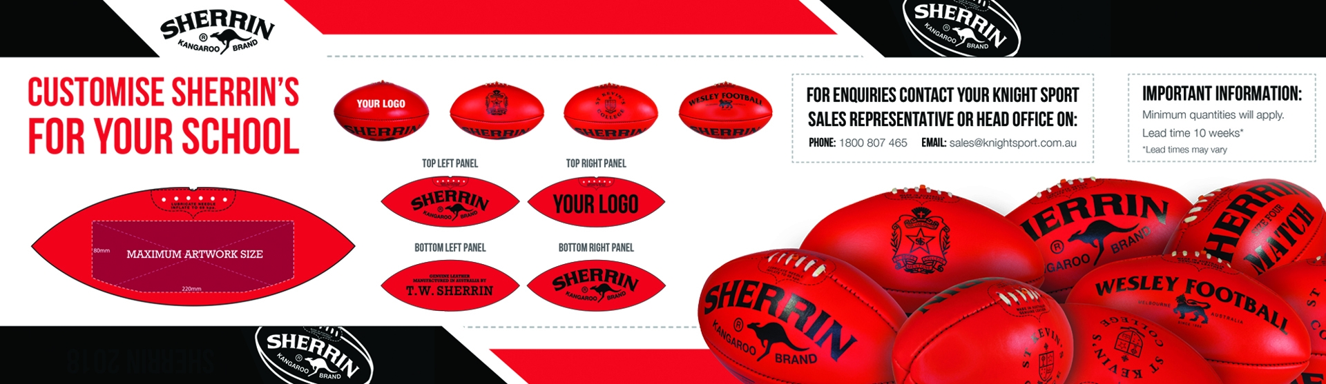 Sherrin Customized